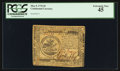 Colonial Notes:Continental Congress Issues, Continental Currency May 9, 1776 $5 PCGS Extremely Fine 45.. ...