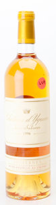 White Bordeaux, Chateau d'Yquem 1996 . Sauternes. Bottle (1). ... (Total: 1Btl. )