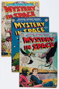 Golden Age (1938-1955):Science Fiction, Mystery in Space #7-10 Group (DC, 1952) Condition: AverageGD/VG.... (Total: 4 Comic Books)