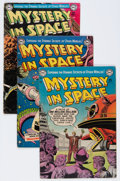 Golden Age (1938-1955):Science Fiction, Mystery in Space #11-18 and 20 Group (DC, 1952-54) Condition:Average GD+.... (Total: 9 Comic Books)