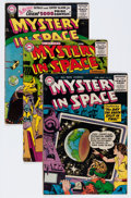 Golden Age (1938-1955):Science Fiction, Mystery in Space #31-34 and 40 Group (DC, 1956-57) Condition:Average VG/FN.... (Total: 5 Comic Books)