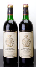 Red Bordeaux, Chateau Gruaud Larose 1986 . St. Julien. 1lbsl, 1scl. Bottle(2). ... (Total: 2 Btls. )