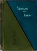 Books:Literature Pre-1900, George Tallman. Innocents From Abroad. Carleton, 1878. FirstAmerican edition, first printing. Mild rubbing to c...