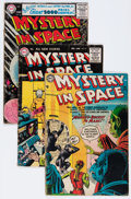 Golden Age (1938-1955):Science Fiction, Mystery in Space Group (DC, 1954-59) Condition: Average GD-....(Total: 12 Comic Books)