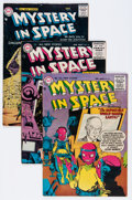 Golden Age (1938-1955):Science Fiction, Mystery in Space #30, 31, and 36 Group (DC, 1956-57) Condition:Average FN+.... (Total: 3 Comic Books)