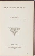 Books:Literature Pre-1900, Barry Gray. My Married Life at Hillside. Hurd and Houghton,1865. First edition, first printing. Publisher's cloth w...