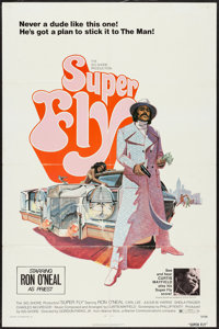 """Super Fly & Other Lot (Warner Brothers, 1972). One Sheets (2) (27"""" X 41""""). Blaxploitation. ... (Total:..."""