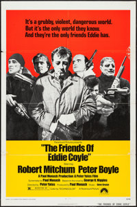 "The Friends of Eddie Coyle (Paramount, 1973). One Sheet (27"" X 41""). Crime"