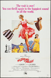"The Sound of Music (20th Century Fox, R-1973). One Sheet (27"" X 41""). Academy Award Winners"