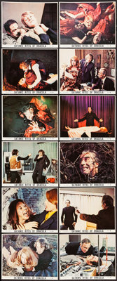 "The Satanic Rites of Dracula (Warner Brothers, 1974). Color Photo Set of 12 (8"" X 10""). Horror. ... (Total: 12..."