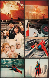 "Superman the Movie (Warner Brothers, 1978). Deluxe Photo Set of 8 (8"" X 10""). Action. ... (Total: 8 Items)"