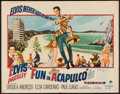 "Movie Posters:Elvis Presley, Fun in Acapulco (Paramount, 1963). Half Sheet (22"" X 28""). ElvisPresley.. ..."