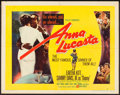 "Movie Posters:Black Films, Anna Lucasta (United Artists, 1958). Half Sheet (22"" X 28"") StyleA. Black Films.. ..."