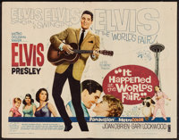 "It Happened at the World's Fair (MGM, 1963). Half Sheet (22"" X 28""). Elvis Presley"