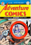 Original Comic Art:Covers, Joe Simon Adventure Comics #94 Sandman Cover RecreationOriginal Art (undated)....