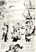 Original Comic Art:Panel Pages, Neal Adams and Frank Giacoia Green Lantern #77 Page 22Original Art (DC, 1970)....
