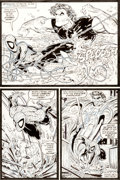 Original Comic Art:Panel Pages, Todd McFarlane The Amazing Spider-Man #315 Page 4 Original Art (Marvel, 1989)....
