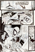 Original Comic Art:Panel Pages, Todd McFarlane The Amazing Spider-Man #322 Page 27 OriginalArt (Marvel, 1989)....