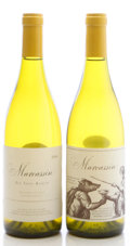 Domestic Chardonnay, Marcassin Chardonnay. 2004 Marcassin Vineyard Bottle (1). 2004 Zio Tony Ranch Bottle (1). ... (Total: 2 Btls. )