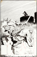 Original Comic Art:Covers, John Buscema and Al Williamson Wolverine #3 Cover OriginalArt (Marvel, 1989)....