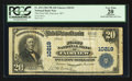 National Bank Notes:West Virginia, Fairview, WV - $20 1902 Plain Back Fr. 654 The First NB Ch. #10219. ...