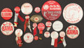 Football Collectibles:Others, Collection of 20 University of Alabama Pinback Buttons and Other Trinkets. ...