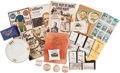 Baseball Collectibles:Others, 19th and 20th Century Baseball and Football Memorabilia andTrinkets Lot....
