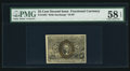 Fractional Currency:Second Issue, Fr. 1284 25¢ Second Issue PMG Choice About Unc 58 EPQ.. ...