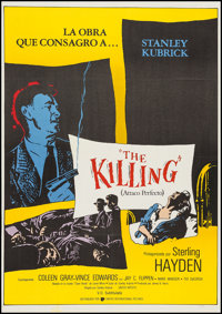 """The Killing and Other Lot (United Artists, R-1986). Spanish Language One Sheets (2) (27"""" X 41"""" and 27"""" X..."""