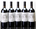 Spain, Bodegas Roda Rioja 2000 . Cirsion. 3lbsl, 1lnl. Bottle (5).... (Total: 5 Btls. )