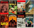 Books:Science Fiction & Fantasy, [Movie Tie-Ins]. Group of Eight Mass Market Paperbacks, Seven First Printing. Various, 1951-1965. 1984 is a later printing. ...
