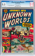 Golden Age (1938-1955):Horror, Journey Into Unknown Worlds #6 (Atlas, 1951) CGC VF+ 8.5 Off-whiteto white pages....