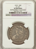 Bust Half Dollars, 1825 50C -- Improperly Cleaned -- NGC Details. VF. O-101. NGCCensus: (13/1003). PCGS Population (7/1188). Mintage: 2,900,0...