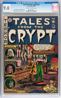 Golden Age (1938-1955):Horror, Tales From the Crypt #25 (EC, 1951) CGC VF/NM 9.0 Off-white towhite pages....