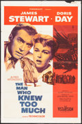 """Movie Posters:Hitchcock, The Man Who Knew Too Much (Paramount, 1956). One Sheet (27"""" X 41"""").Hitchcock.. ..."""