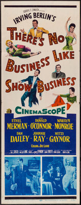"There's No Business Like Show Business (20th Century Fox, 1954). Insert (14"" X 36""). Musical"