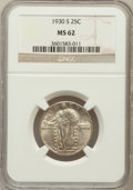 Standing Liberty Quarters: , 1930-S 25C MS62 NGC. NGC Census: (54/361). PCGS Population(88/759). Mintage: 1,556,000. Numismedia Wsl. Price for problem ...