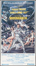 "Movie Posters:James Bond, Moonraker (United Artists, 1979). British Three Sheet (40.5"" X75.5""). James Bond.. ..."