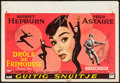 "Movie Posters:Romance, Funny Face (Paramount, 1957). Belgian (15"" X 22""). Romance.. ..."
