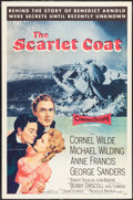 "Movie Posters:Adventure, The Scarlet Coat (MGM, 1955). One Sheet (27"" X 41""). Adventure....."