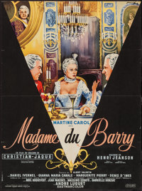 """Madame du Barry (Cinedis, 1954). French Affiche (22.25"""" X 30""""). Foreign"""