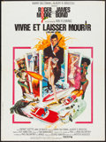 "Movie Posters:James Bond, Live and Let Die (United Artists, 1973). French Affiche (23.5"" X31.5""). James Bond.. ..."