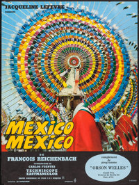 """Mexico-Mexico (CFDC, 1968). French Affiche (22.5"""" X 30.25""""). Documentary"""