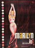 "Movie Posters:Documentary, Marilyn (20th Century Fox, R-1982). French Affiche (23"" X 31.5""). Documentary.. ..."