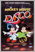 "Movie Posters:Animation, Mickey Mouse Disco (Buena Vista, 1980). One Sheet (27"" X 41"").Animation.. ..."