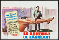 "The Graduate (United Artists, 1968). Belgian (14.25"" X 21.5""). Comedy"