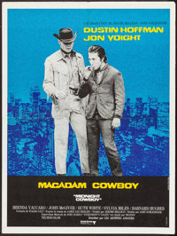 "Midnight Cowboy (United Artists, 1969). French Affiche (23.5"" X 31.5""). Academy Award Winners"