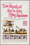 "Movie Posters:Adventure, Those Magnificent Men in Their Flying Machines (20th Century Fox,1965). One Sheet (27"" X 41"") Flat Folded. Adventure.. ..."