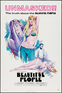 "Beautiful People & Other Lot (Capital Productions, 1971). One Sheets (2) (27"" X 41""). Exploitation..."
