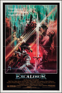 """Excalibur & Other Lot (Warner Brothers, 1981). One Sheets (2) (27"""" X 41""""). Fantasy. ... (Total: 2 Item..."""